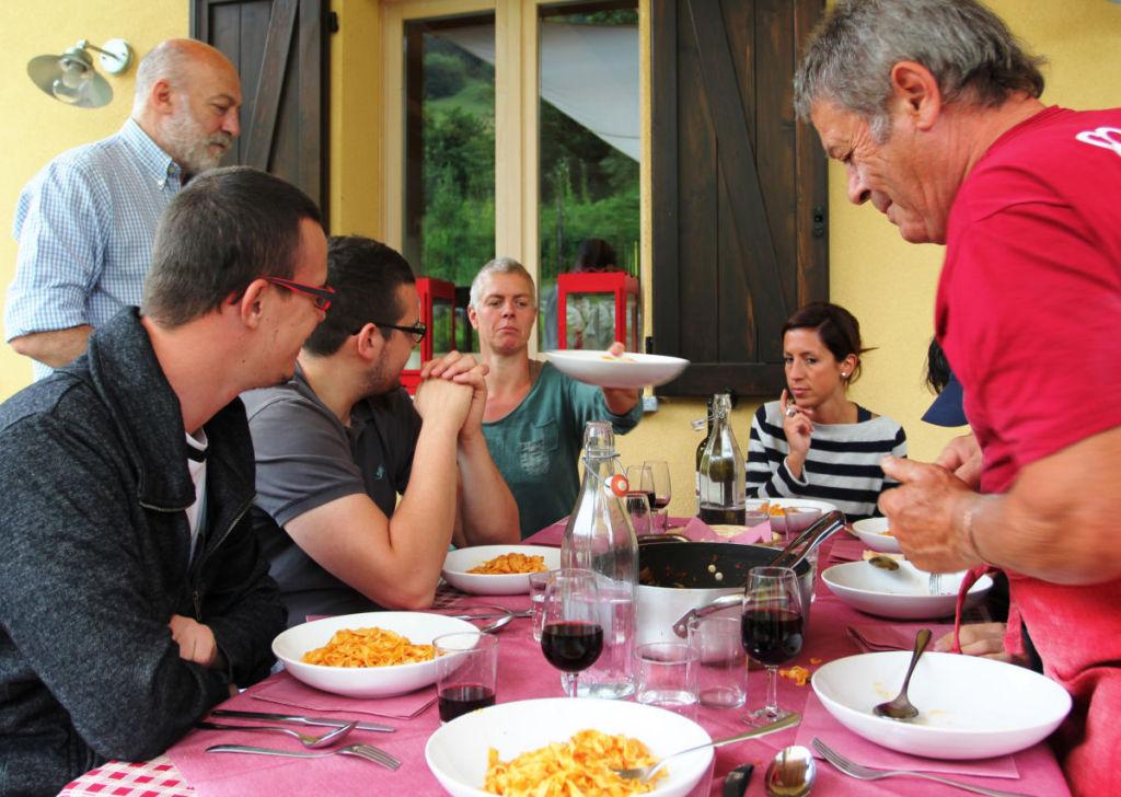 Dining at Agriturismo Signur