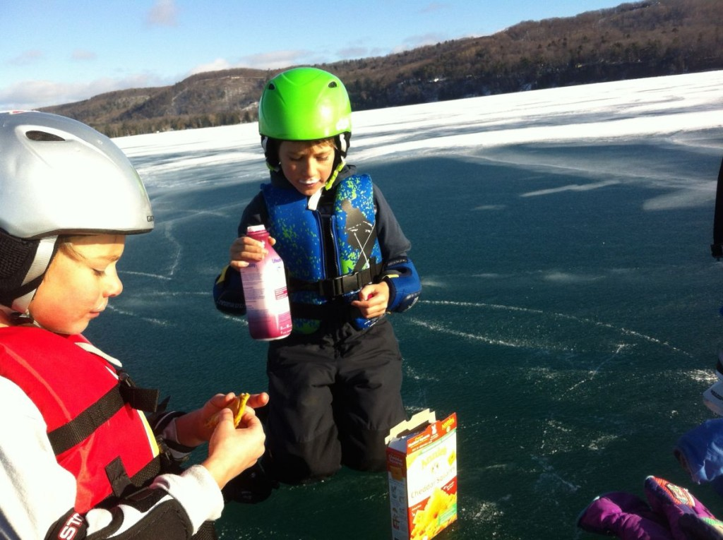 snack on the ice