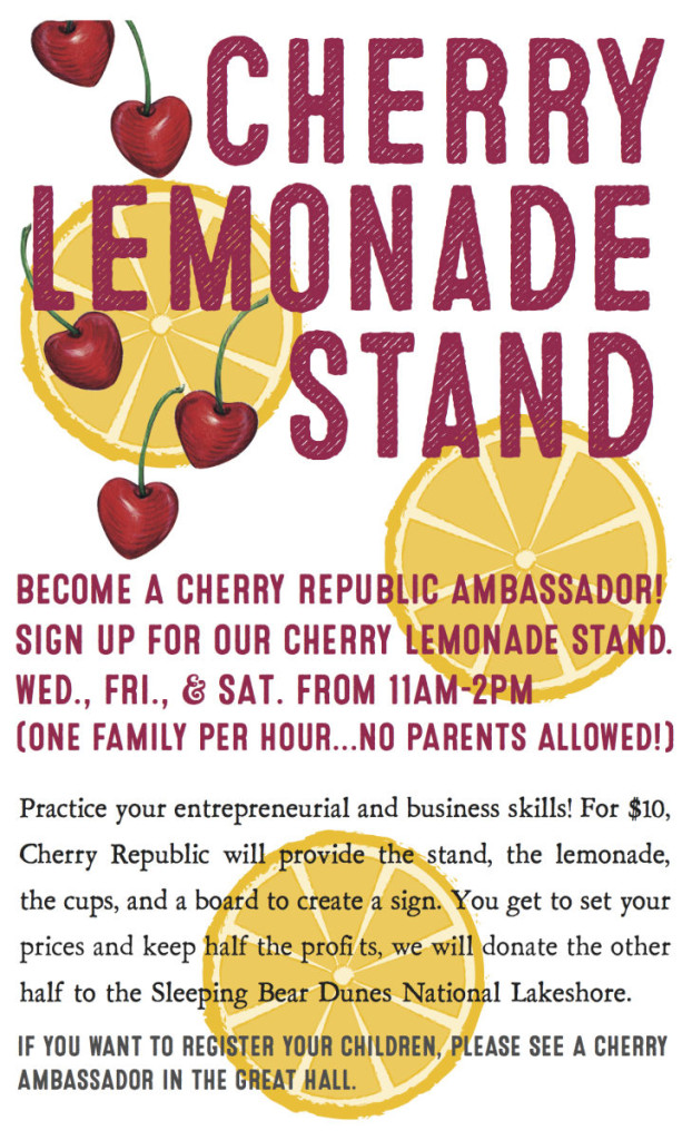 lemonade stand-poster